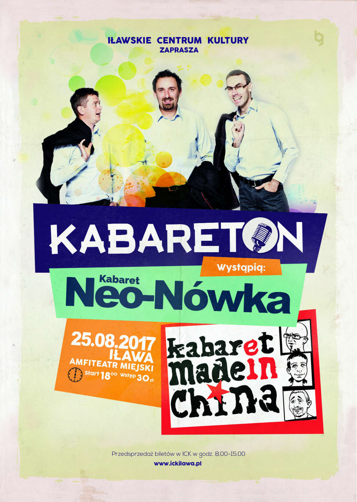 Kabareton w Iławie. Made In China i Neo – Nówka! - full image