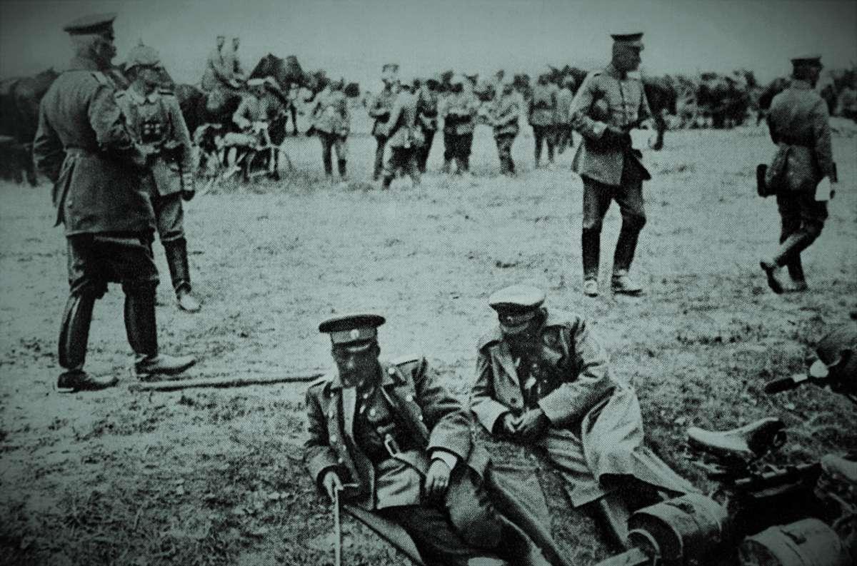 Carski generał, który zbombardował Nidzicę  - full image