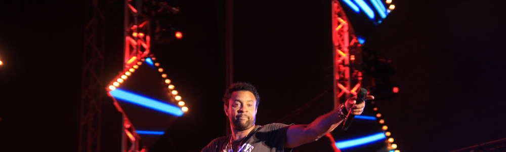 Shaggy rozgrzał publiczność Ostróda Reggae Festiwalu