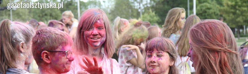 Holi Festival. W Olsztynie było kolorowo [ZDJĘCIA i FILM]