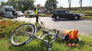 Rondo OKS w Olsztynie z niechlubnym rekordem. Najwięcej stłuczek z rowerzystami