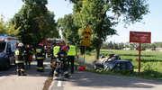 Z ostatniej chwili: Wypadek w Żebrach. Trzy osoby ranne!