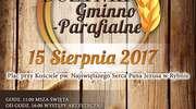 Zapraszamy na Dożynki Gminno-Parafialne do Rybna