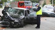 Wypadek na ul. Bałtyckiej w Olsztynie. Jedna osoba w szpitalu [ZDJĘCIA I FILM]