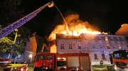 Dramat mieszkańców Zatorza. Pożar na Zientary-Malewskiej w Olsztynie