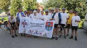 Rowerzyści z Lubartowa zatrzymali się w Bisztynku