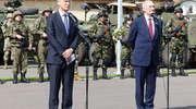 Szef NATO odwiedził żołnierzy z Batalionowej Grupy Bojowej