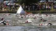 Enduro Man po raz piąty. Na początek wyścig pływaków w rzece Elbląg