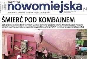 """Już w piątek nowa """"Gazeta Nowomiejska"""""""