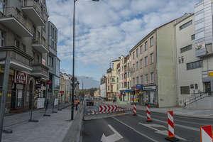 Ulica św. Wojciecha tymczasowo zamknięta