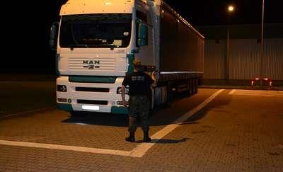 Ciężarówka z Ukrainy zatrzymana na granicy
