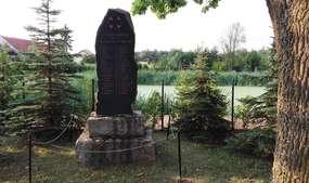 Kamionki: pomnik poległych w czasie Wielkiej Wojny