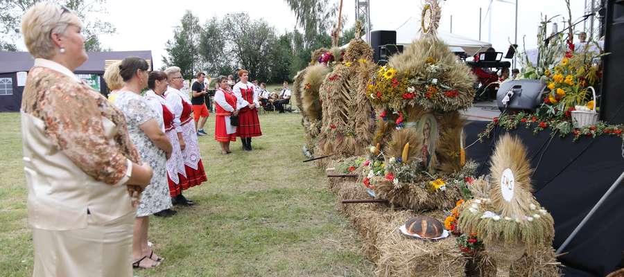 Kadr z ubiegłorocznych Dożynek Gminno-Parafialnych w Skurpiu