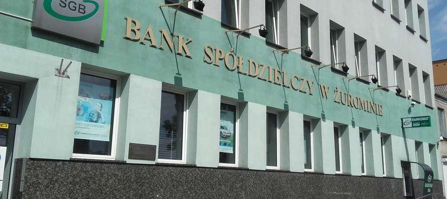 To pierwsza kradzież w Banku Spółdzielczym