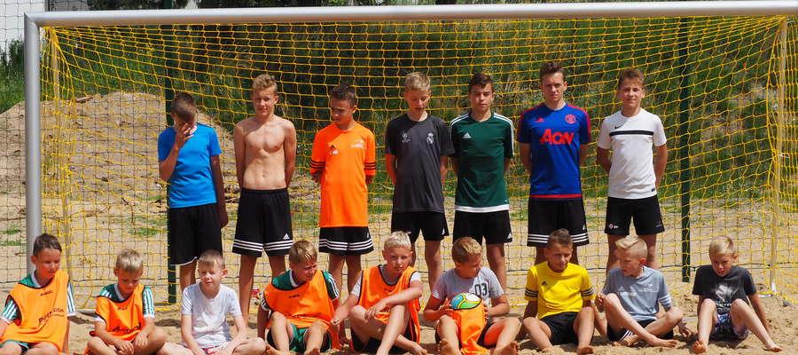Uczestnicy I Turnieju Beach Soccer
