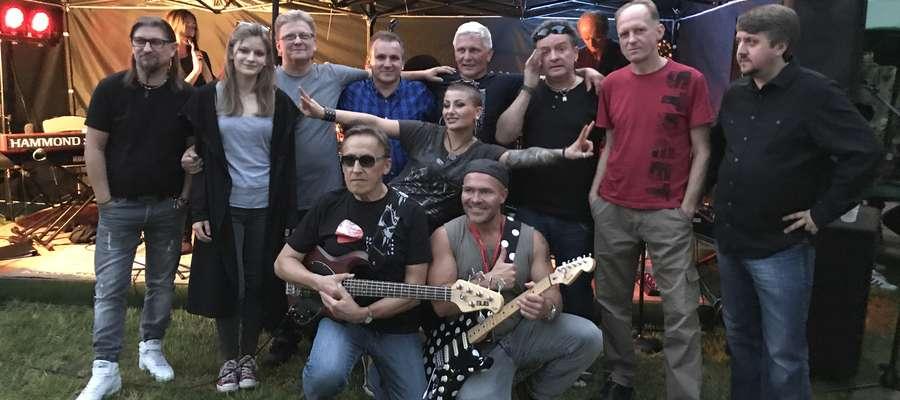Uczestnicy wyjątkowego koncertu