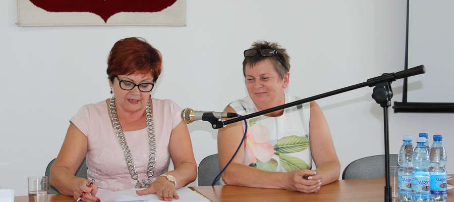 Od zeszłego tygodnia w prezydium żuromińskiej Rady Miejskiej zasiadają dwie kobiety