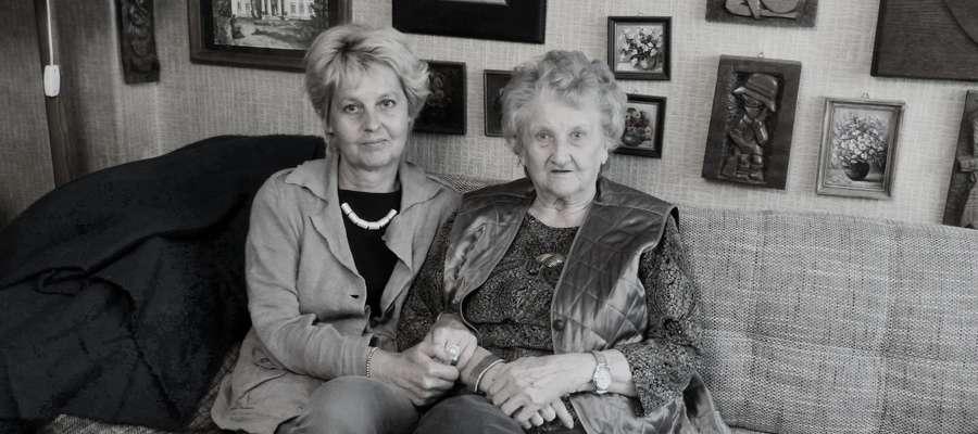 Na zdjęciu pani Krystyna Brzeska z córką Magdaleną