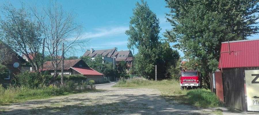Gutkowo - widok z ul. Bałtyckiej