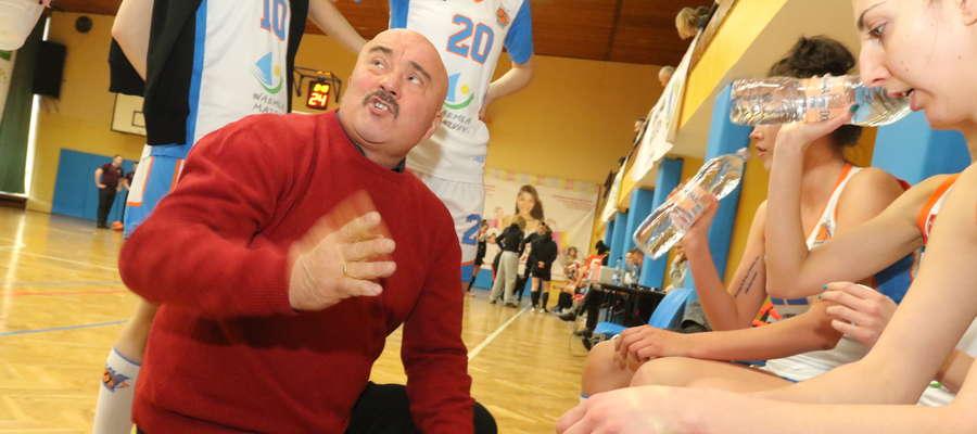 Tomasz Sztąberski, trener KKS Olsztyn