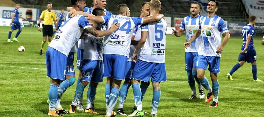 Stomil Olsztyn  Olsztyn - Stomil Olsztyn wygrał z Podbeskidziem Bielsko – Biała 3:1