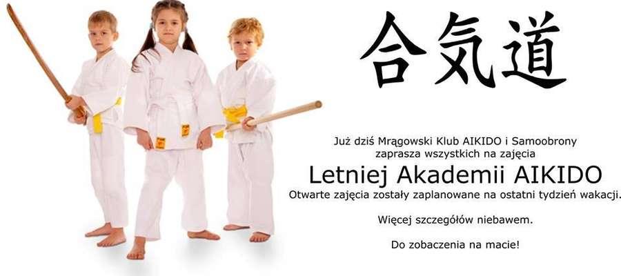 Plakat Letniej Akademii Aikido