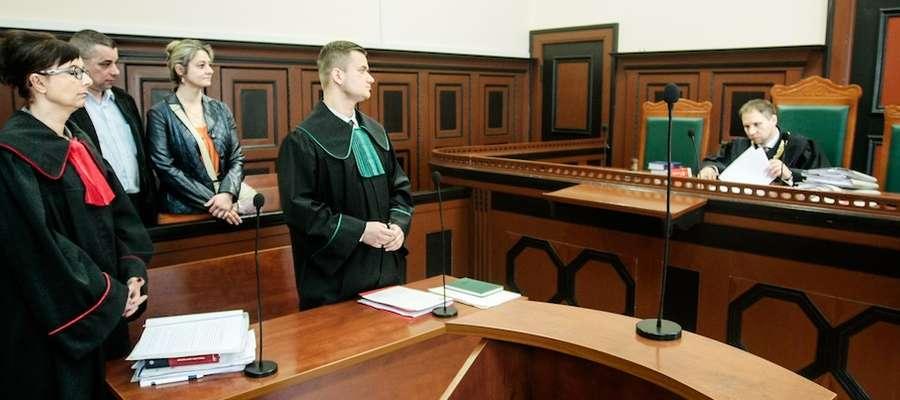 Sprawa Piotra U. ruszyła w kwietniu br. przed elbląskim sądem