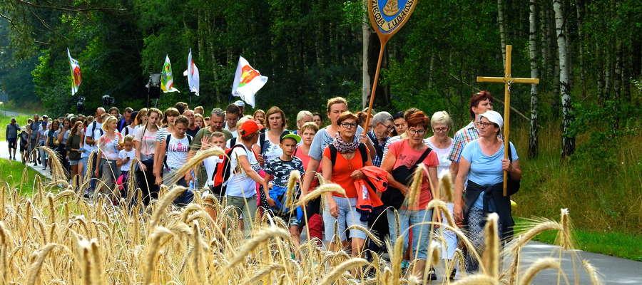 Pielgrzymi w Lipowcu