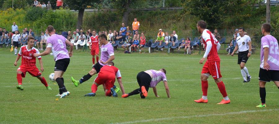 Piłkarze Tęczy Miłomłyn tym razem w Ornecie postarają się zdobyć pierwsze punkty w IV lidze