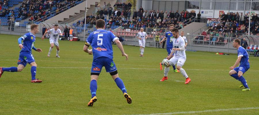 Wiosną w ostatnim meczu ligowym Sokoła z Kaczkanem Huraganem morążanie wygrali 2:0