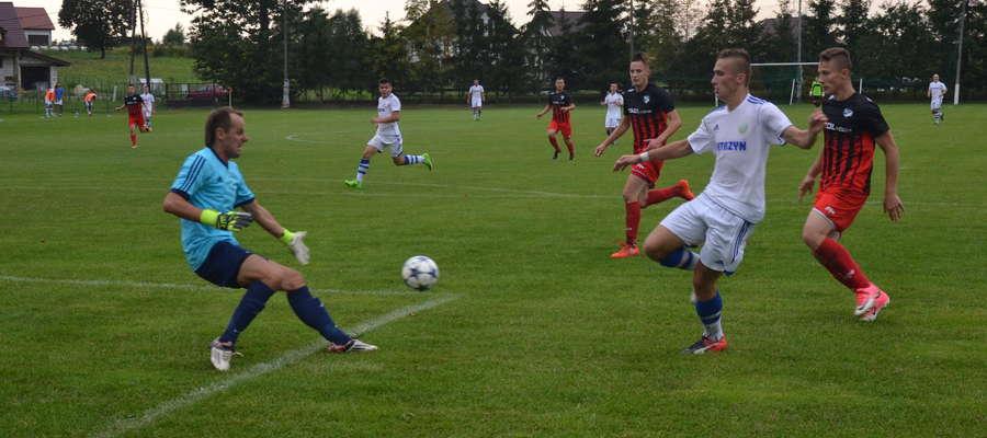 Tęcza Miłomłyn odniosła pierwsze zwycięstwo na własnym boisku w IV lidze