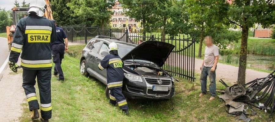 Wypadek w Mikołajkach