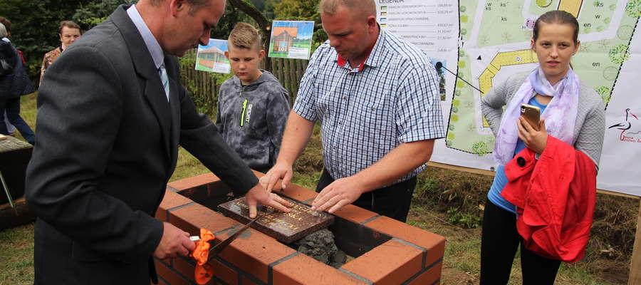 Wmurowanie kamienia węgielnego pod uzdrowisko było ważnym elementem uroczystości
