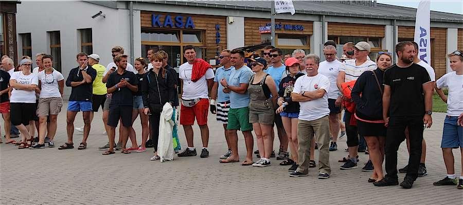 Uczestnicy XXIV Mistrzostw Polski Jachtów Kabinowych