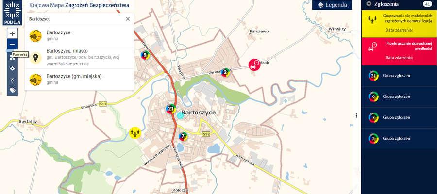 Zrzut z ekranu KMZB