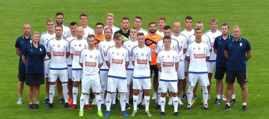 Olimpia Elbląg w sezonie 2017/18