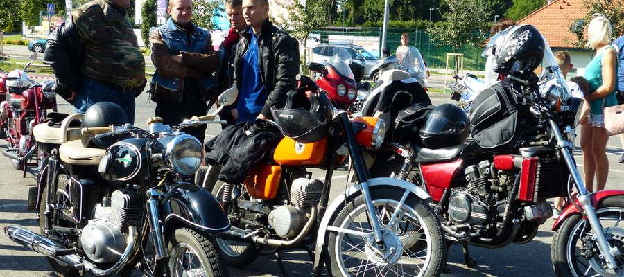 Mrągowski Rajd Motocykli Zabytkowych, Mrągowo, Motocykle, Otolia Siemieniec