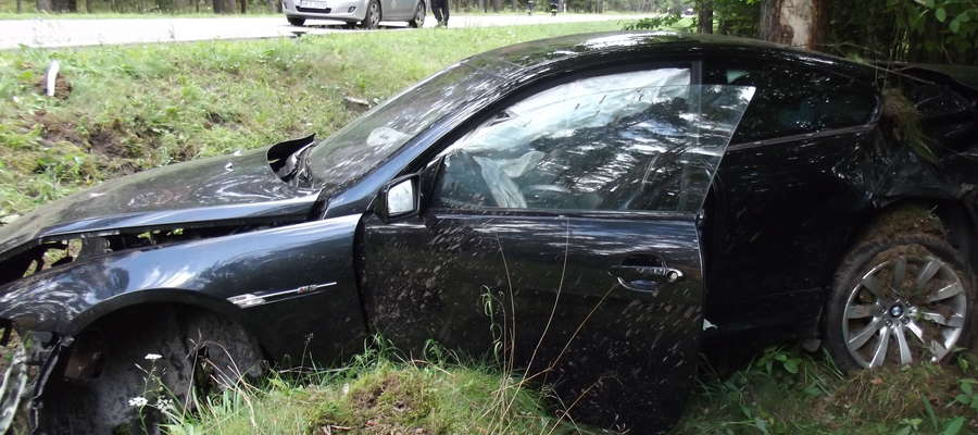 Wypadek na trasie Pisz-Ruciane-Nida