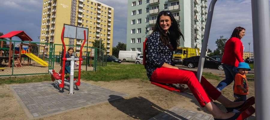 Magdalena Kanownik była pomysłodawczynią budowy placu rekreacyjnego na Zatorzu