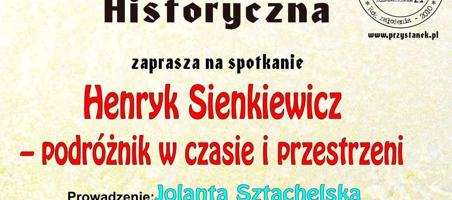 O Sienkiewiczu W Oleckiej Izbie Historycznej Olecko
