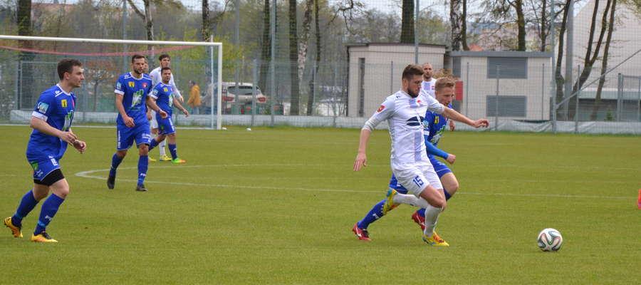 Piłkarze Sokoła przegrali trzy ostatnie mecze ligowe z Kaczkanem Huraganem