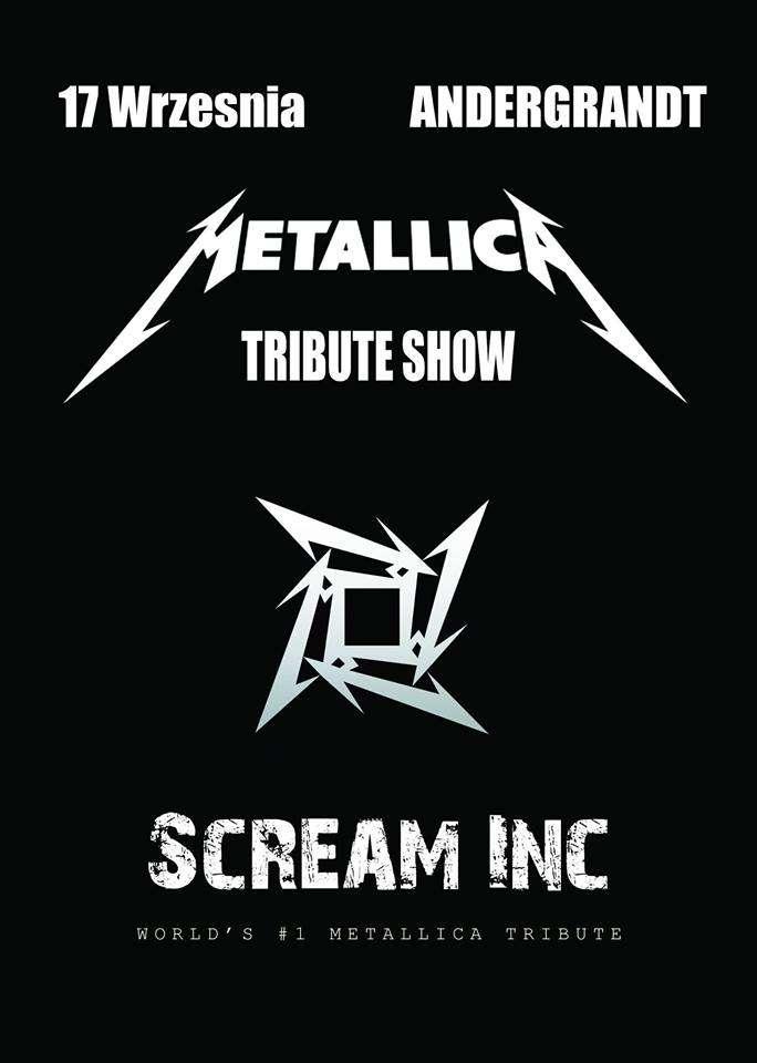 Tribute To Metallica: Scream Inc. na koncercie w Olsztynie - full image