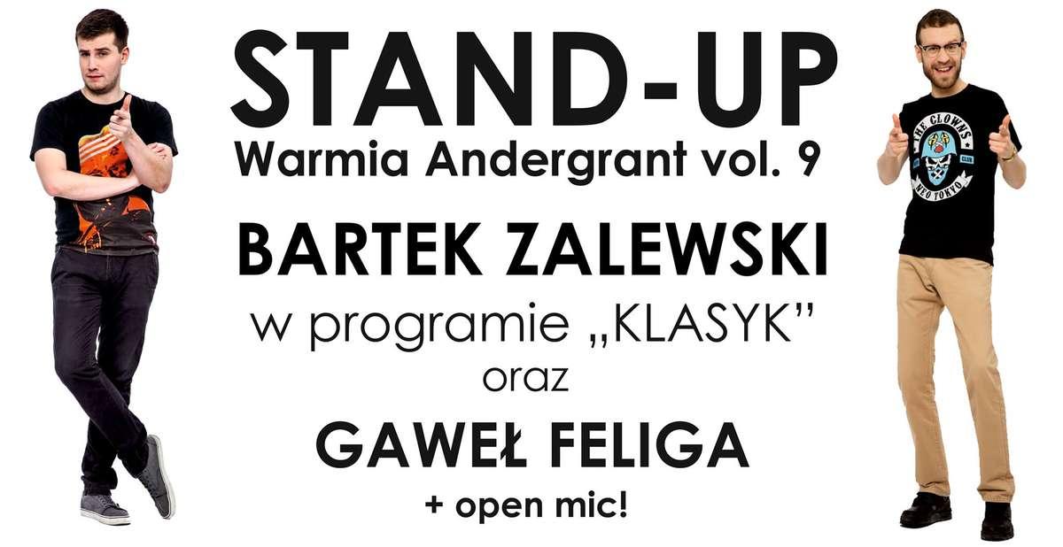 Stand-up Warmia Andergrant w 9. odsłonie - full image