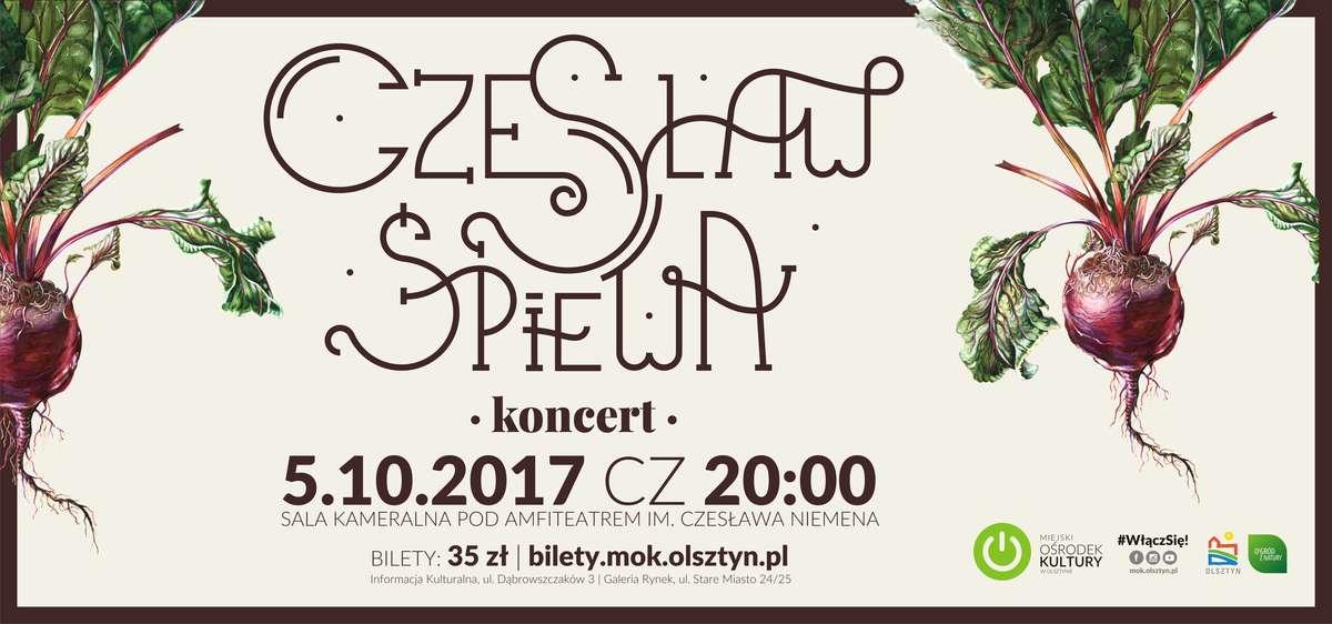 Czesław (za)Śpiewa pod amfiteatrem - full image