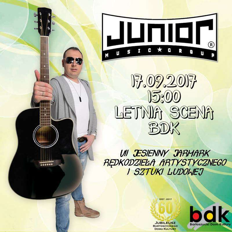 Koncert Disco Polo - Junior na Letniej Scenie BDK - full image