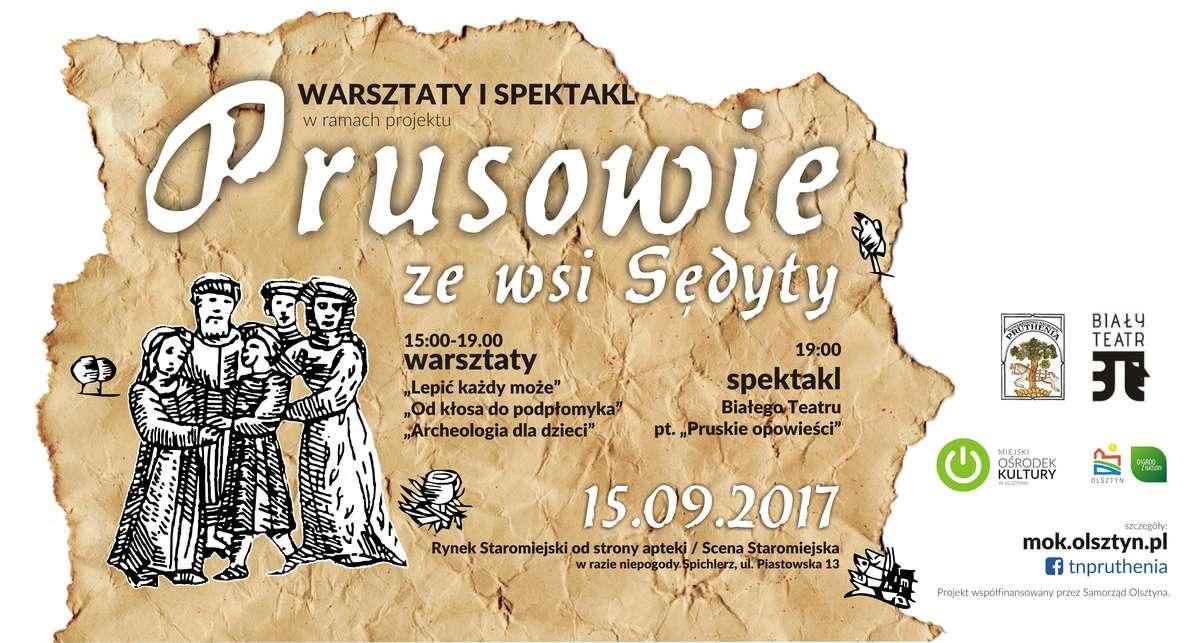 Prusowie i ich opowieści na Starym Mieście - full image