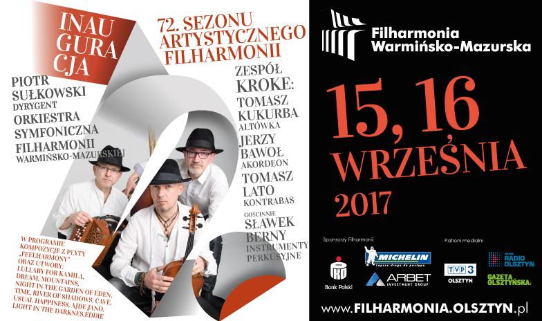 Inauguracja 72. sezonu artystycznego w Filharmonii Warmińsko-Mazurskiej