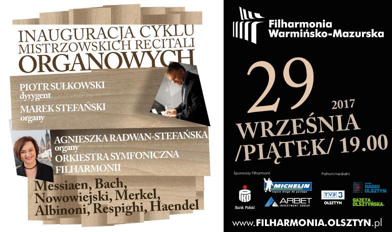 Mistrzowskie Recitale Organowe w filharmonii
