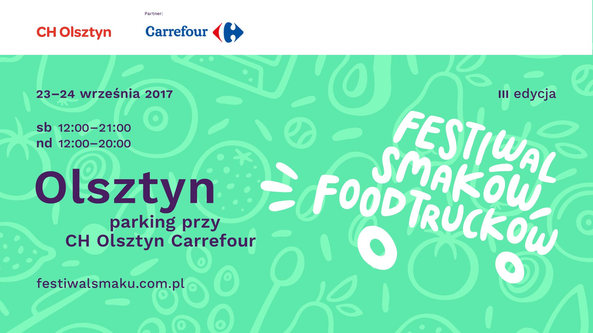 Festiwal Smaków Food Trucków ponownie w Olsztynie!
