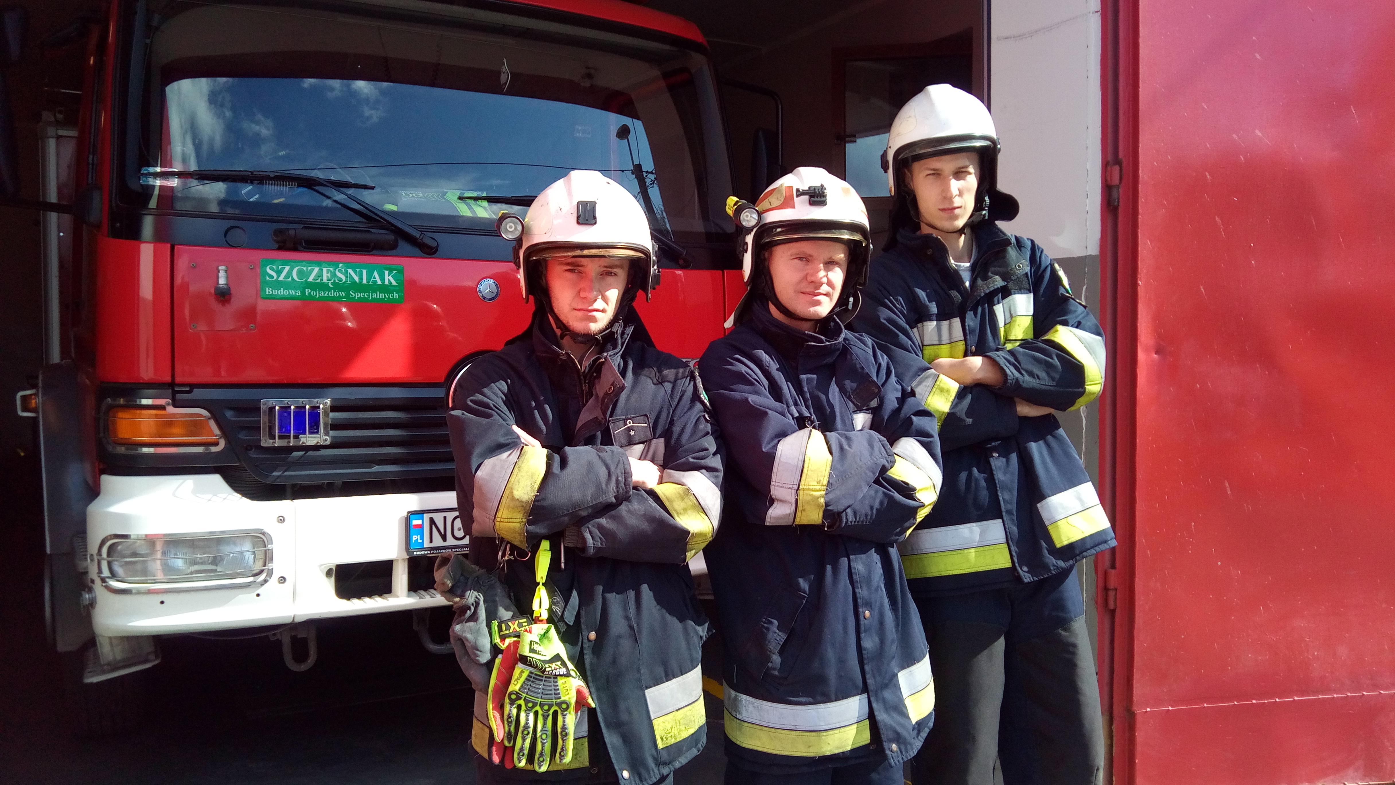 Strażacy OSP Gutkowo